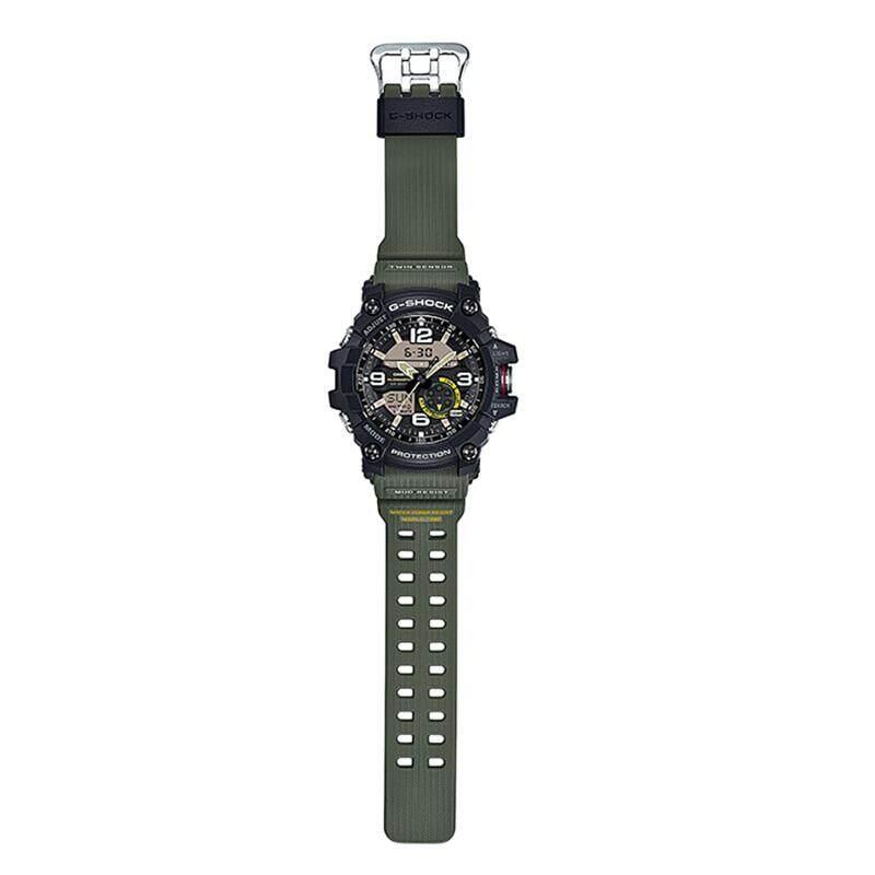 สอนใช้งาน  ยโสธร 【 STOCK】Original _ Casio Casio _ G-Shock GG-1000 MUDMASTER Man นาฬิกาดิจิทัลผู้ชายนาฬิกากีฬา GG-1000-1A3