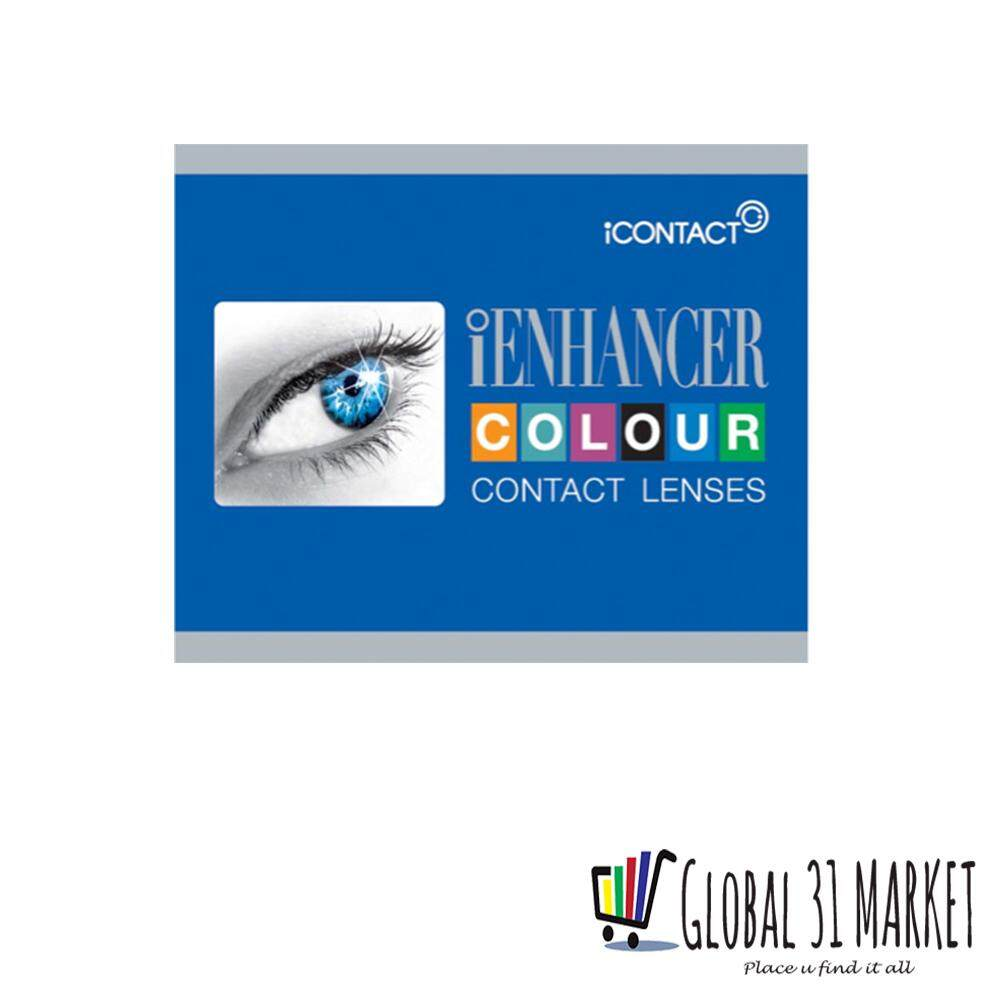 iContact iEnhancer Series , Monthly Disposable Color Contact Lens , 14.00mm , 5 Fantastic Color