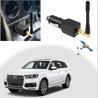 Quelima รถขับเคลื่อน GPS ตัวรบกวนสัญญาณ SHIELD ตัวป้องกัน GPS สีดำ-