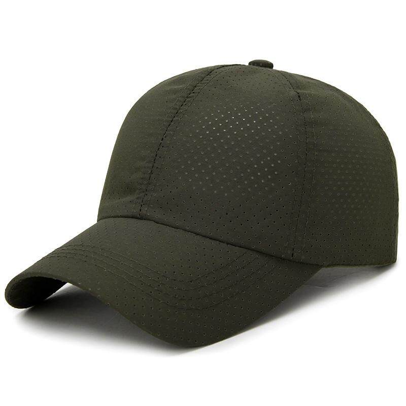 Men's Summer Adjustable Breathable Mesh Hat Quick Dry Cap Outdoor Sports Climbing Baseball Cap