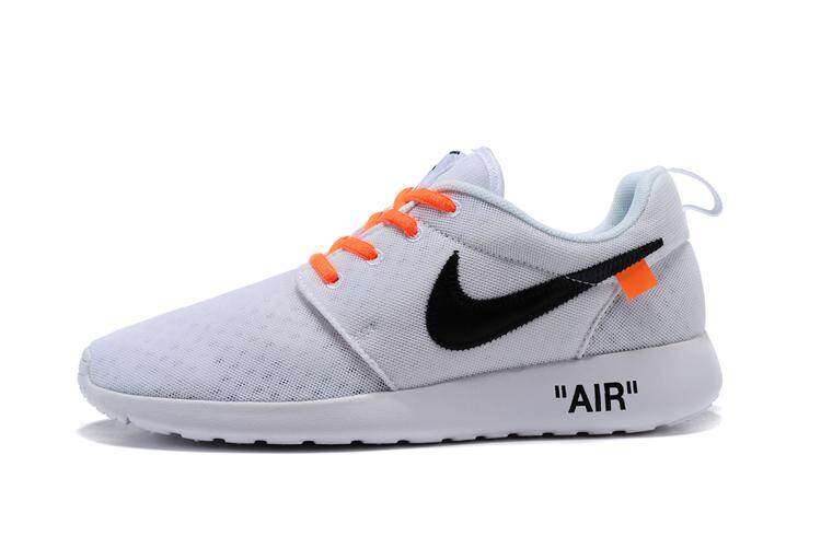 be3b9349ce87 Off-White x Nike Roshe One BR Men s Breathable Running Shoes Fashion ...
