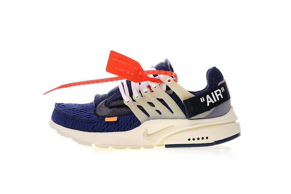 online retailer c18c5 bc1b0 Off-White x Nike Air Presto Ow Virgil Abloh Men s Running Shoes Breathable  Sports Sneakers