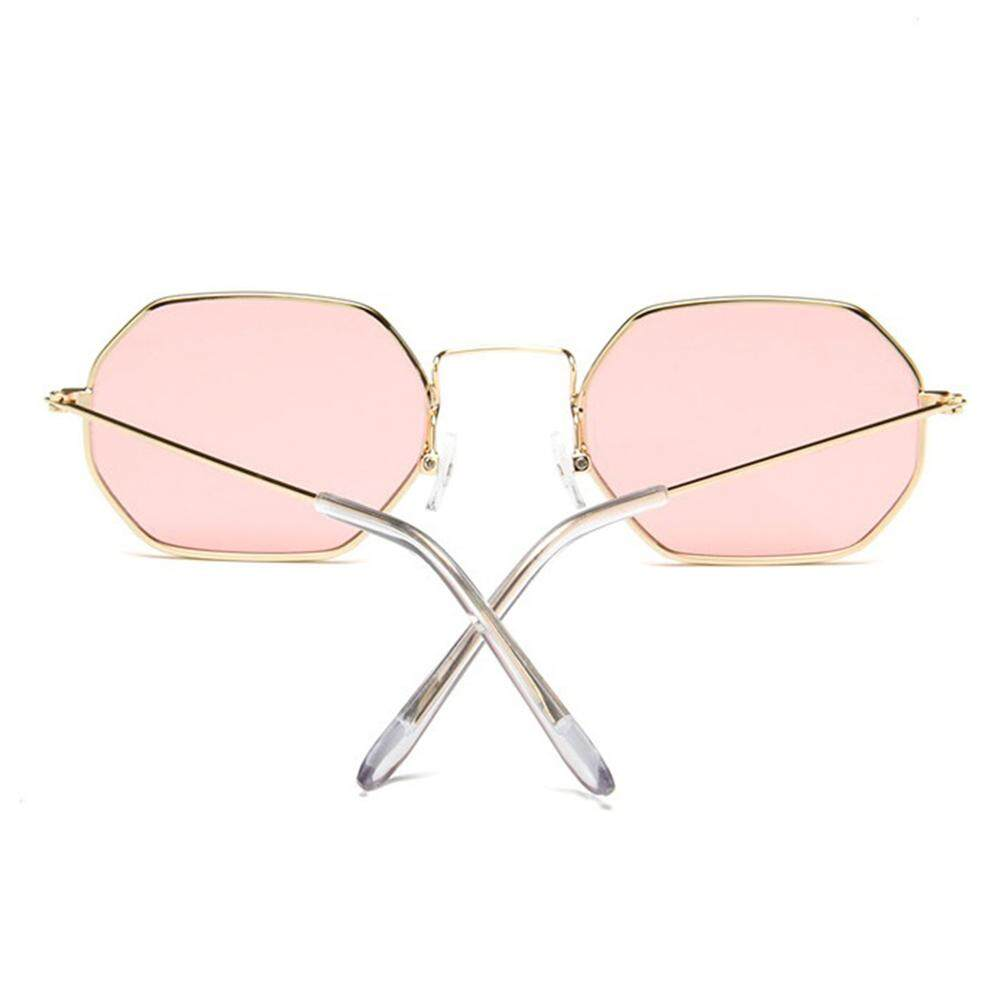 YC Stylish Color-Film Square Sunglasses Driving Glasses for Street Snap Birthday Gift
