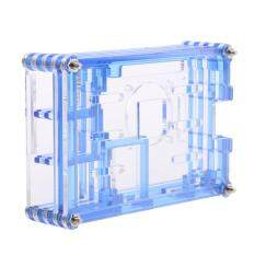 MagiDeal Clear Case Enclosure Box for Raspberry Pi2 PI3 Model B+ Blue