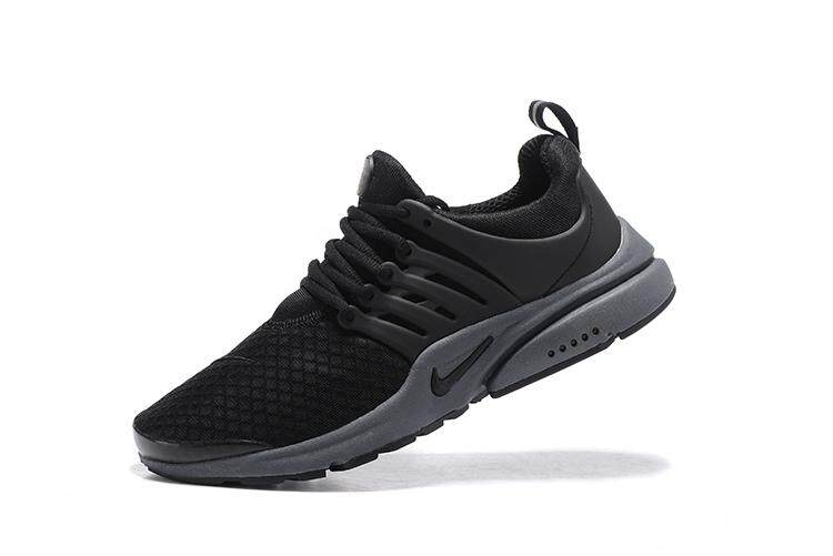 Nike Men s Air Presto Breathable Running Shoes Fashion Sneakers (Black Grey) 65b4a3803766c