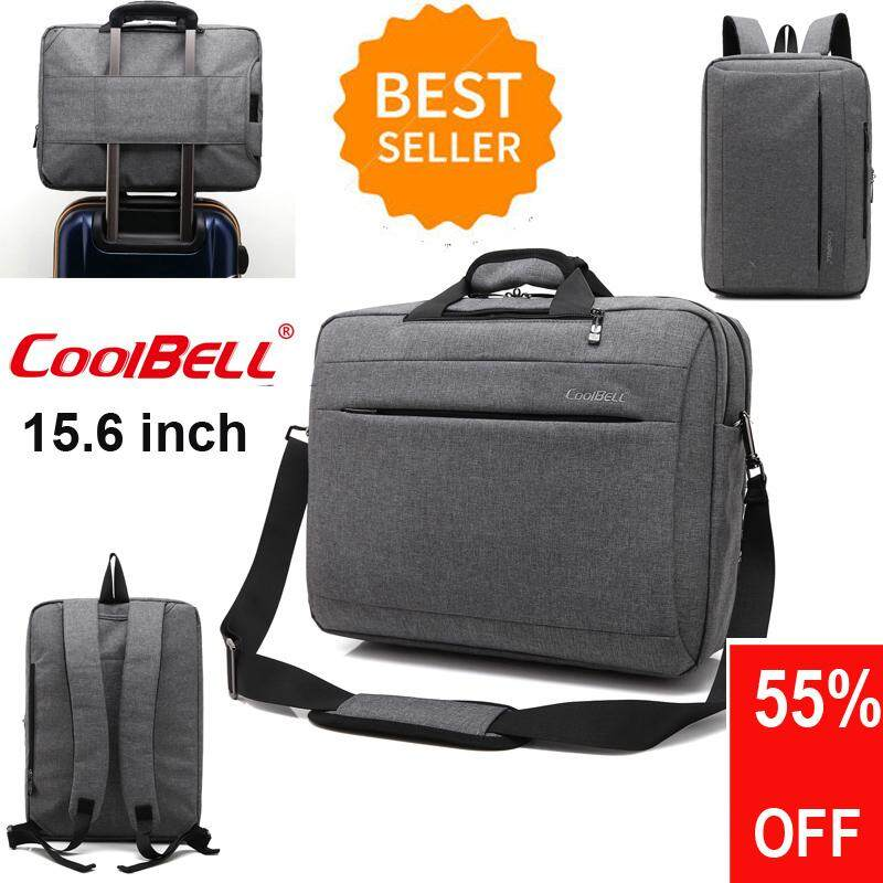 COOLBELL 15.6 inch multifunction Shockproof computer bag laptop messenger handbag laptop bag