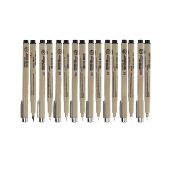 Cocotina 8pcs Micron Fine Line Pen 005 01 02 03 04 Brush Drawing 05 Art 08 Supplies N7N9