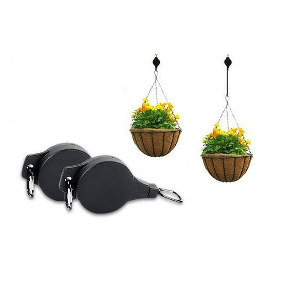 YBH Stretchable Lifting Hook for Hanging Flowerpots Bird Cage Home Gardening Supplies