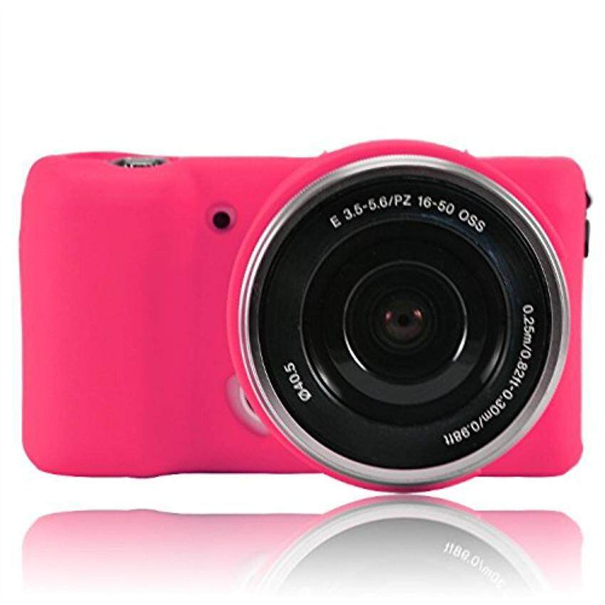 Silicone Camera Case Protective Cover Skin for Sony Alpha A5000 A5100  ILCE-5100 ILCE-5000