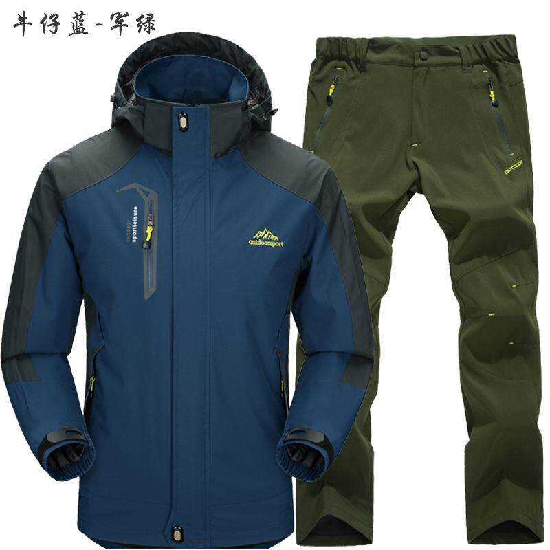 7e6c5d93b Kaishika Outdoor Waterproof Jacket Male Thin Type for Spring And Autumn Set Waterproof  Skiing Mountaineering Product
