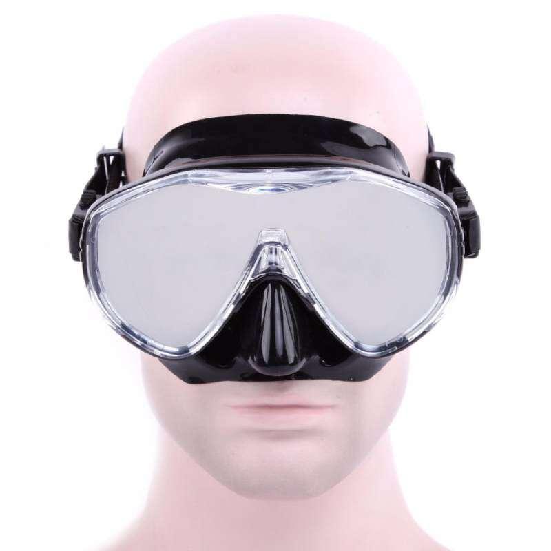 Evernice Whale Penyelam Dewasa Set Anti-Kabut dan Anti UV Topeng Renang Badai Masker Set