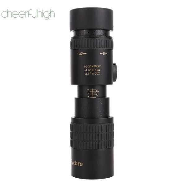 10-30x30 Zoom Teleskop Monokuler HD Telepon Fleksibel Fokus Adjustable Lingkup