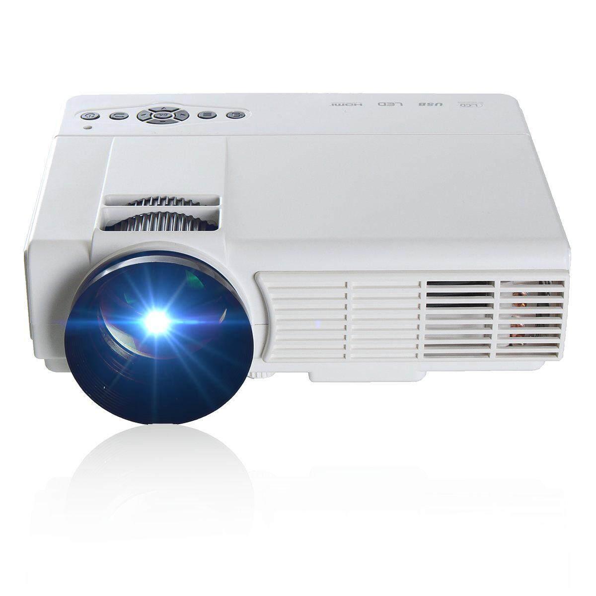 Mạnh mẽ Q5 3D HD 1080 P 3000 Lumens Độ Phân Giải 800x480 Gia đình Đa Phương Tiện Máy Chiếu LED
