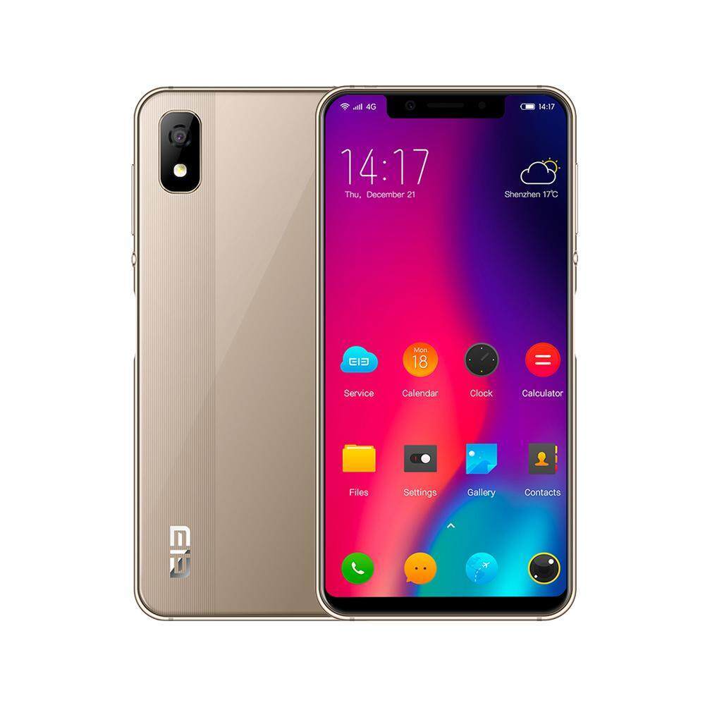 "ELEPHONE A4 4G Mobile Phone Android 8.1 Face ID Fingerprint Unlock 5.85"" 1440*720P HD+ 18:9 Display Notch Screen 8MP+5MP MTK6739 Quad-core BT4.2 16GB ROM 3GB RAM."