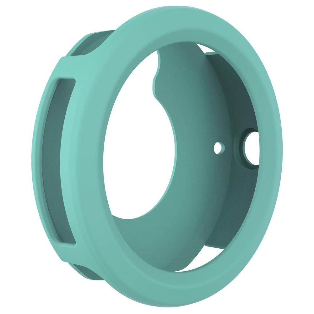 Qyshop Silicone Protector Case Cover Shell For Garmin Vivoactive 3 Smart Watch BK