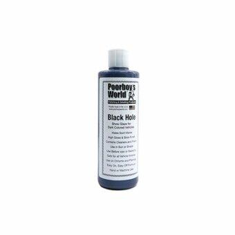 Poorboy's World Black Hole Show Glaze for Dark Vehicles for Automotive Use - 473ml