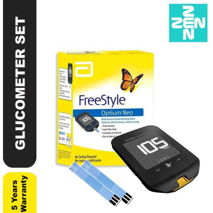 Freestyle Optium Neo Glucometer Blood Glucose And Ketone