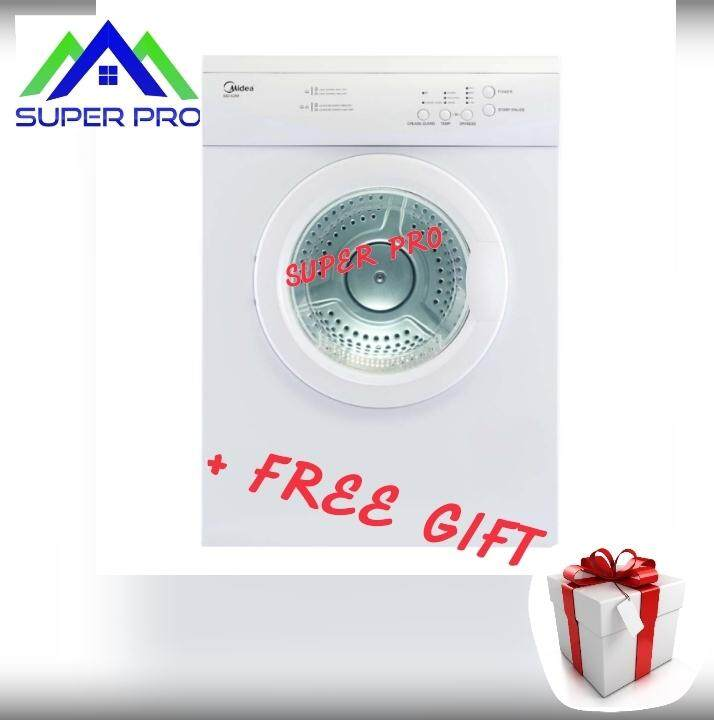 Midea WD-6288 Dryer (White) + FREE GIFT (WORTH THAN MIDEA 7KG DRYER MD-7388)