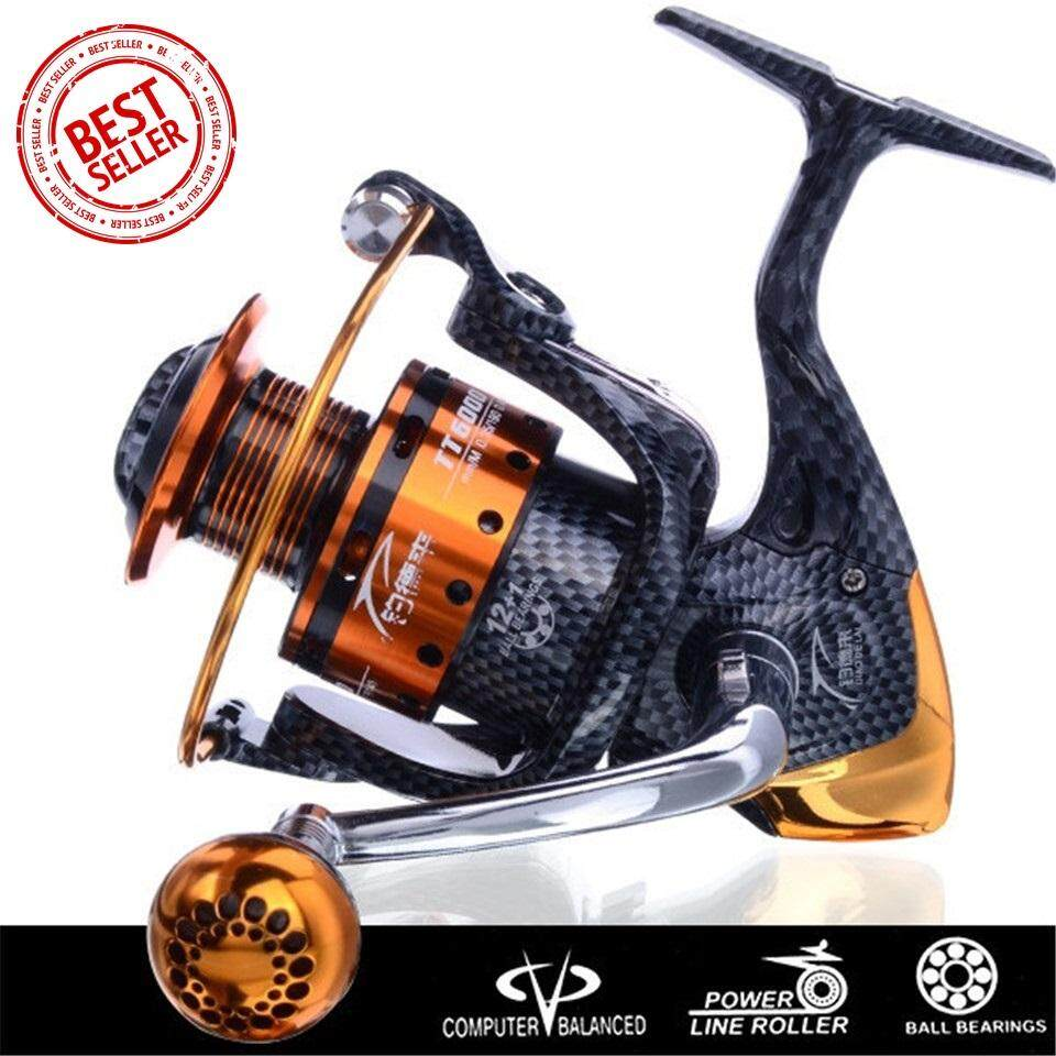 NBS LIEYUWANG HC1000-7000 Spinning Fishing Reel Professional Metal Left/Right Hand Fishing Reel Wheels 13 + 1BB SPINNING Fishing Reel ...