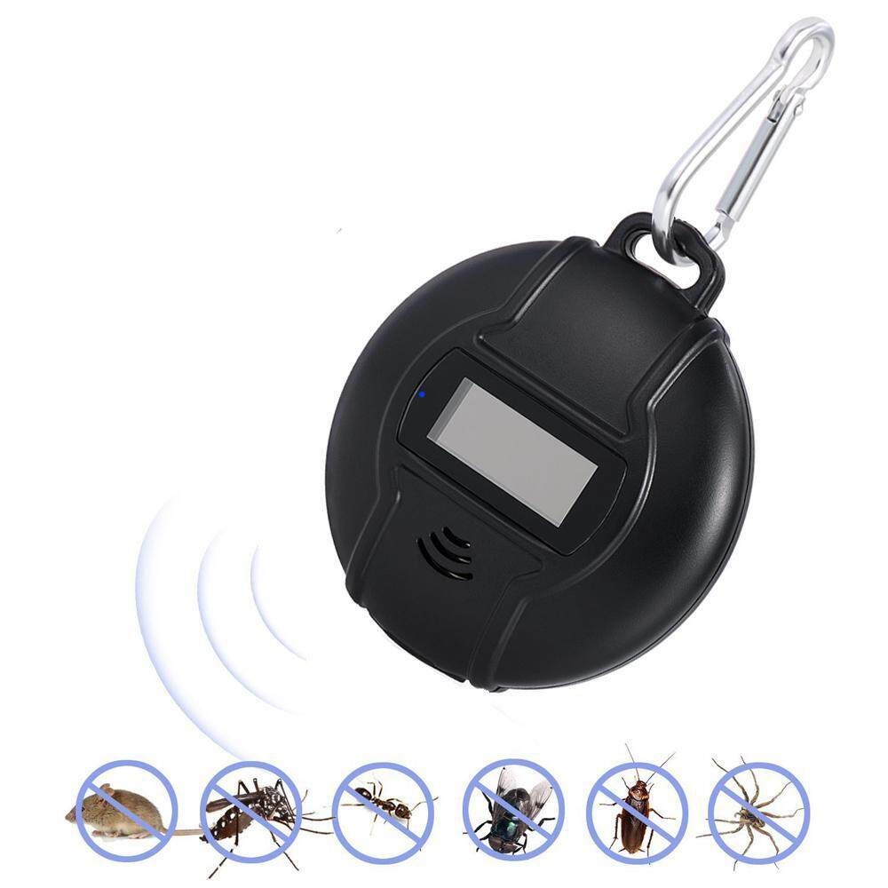 Eenten Ultrasonic Pest Repeller, [2018 New] Solar USB Powered Pest Control Ultrasonic Repeller Portable with Compass for Mosquitoes Mice Roaches in Home Warehouse Restaurant Office Outdoor Activities - intl image on snachetto.com