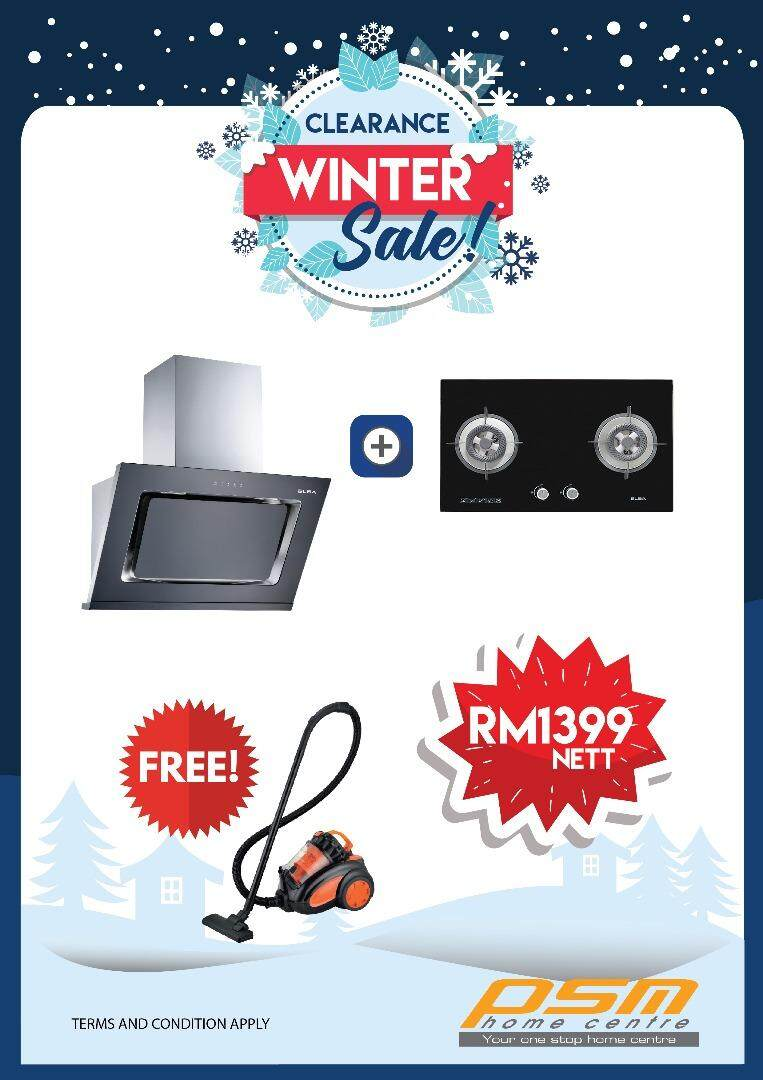 ELBA SUPER VALUE HOOD + HOB PACKAGE EH-E9122ST(BK) + EGH-F8522G(BK)