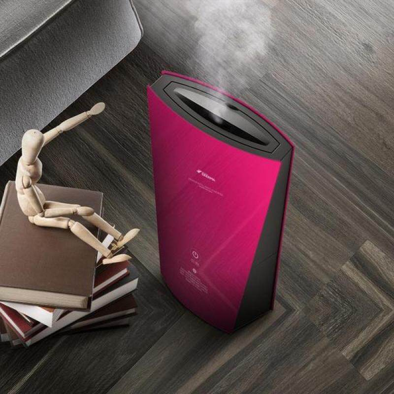 Deerma F190 Air Humidifier Elegant Design Red Style/ 1.3L Capacity/ Up to 6 Months SG Warranty Singapore