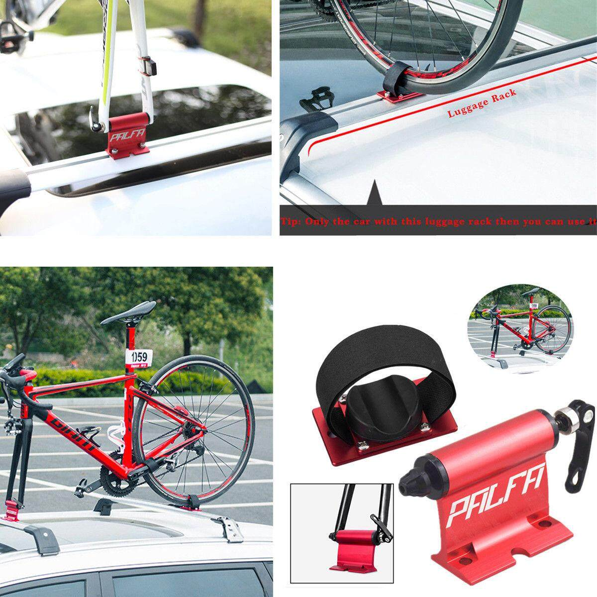 ROCKBROS Bicycle Car Roof Rack Carrier Quick-release Alloy Fork lock Mount Rack