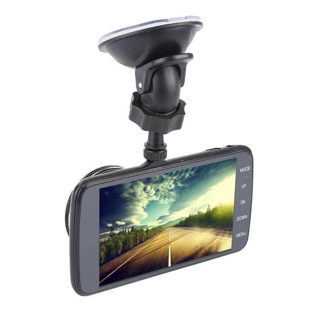 """ZLOYI 3.8"""" LCD Display 1080P HD Ultra Wide Angle Front Rear Camera dual recording Driving recorder"""