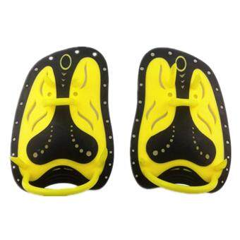 Eason Silica Gel Hand Paddles with Adjustable Strap Improve Swimming Speed for Swim Training Snorkeling Creative