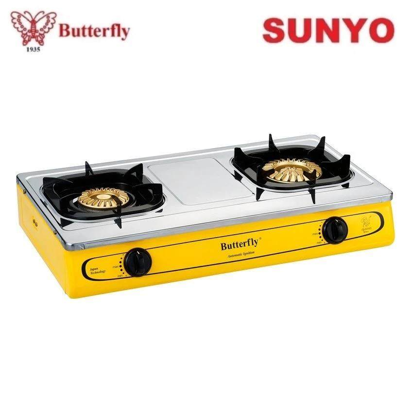 Erfly Bgc 923 Double Burner Gas Stove