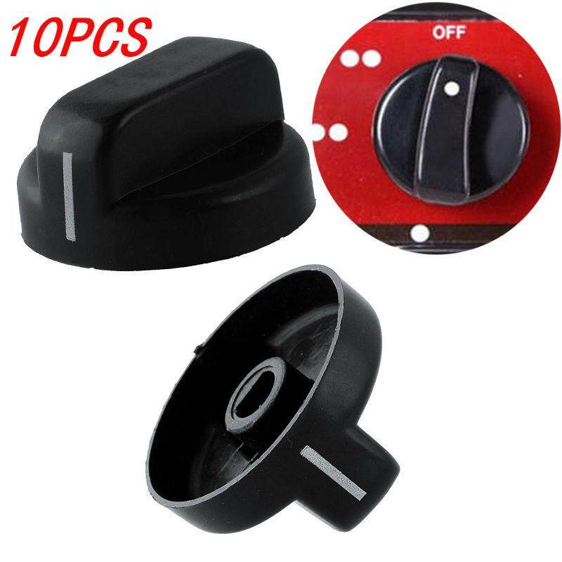 KawhiMall 10 PCS High Quality Kitchen Gas Stove Switch Cooker Oven Control Switch Knobs Thermostable