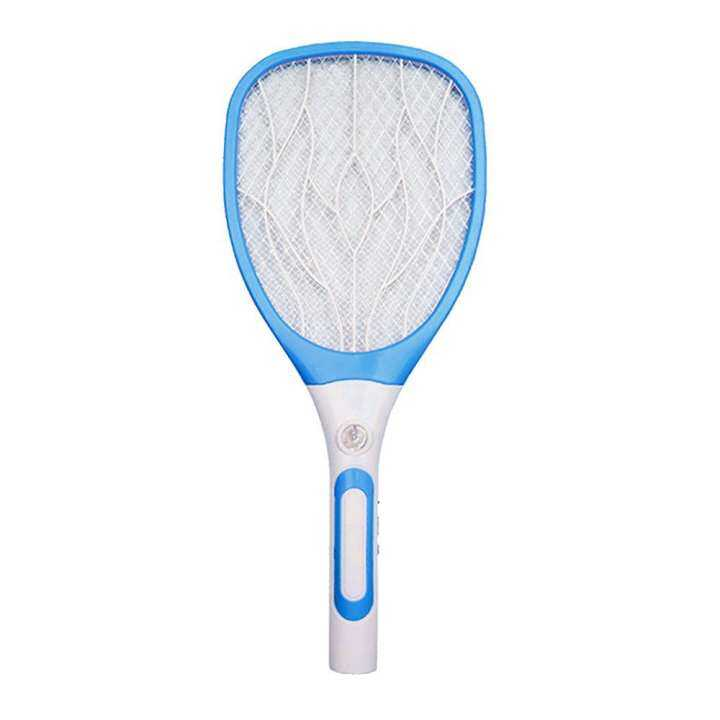oppoing Mosquito Fly Killer Swatter And Bug Zapper Racket, Pawaca USB Charge 3 Layers Safety Mesh Super Bright LED Light Built In Rechargeable Batteries - 2500 Volt