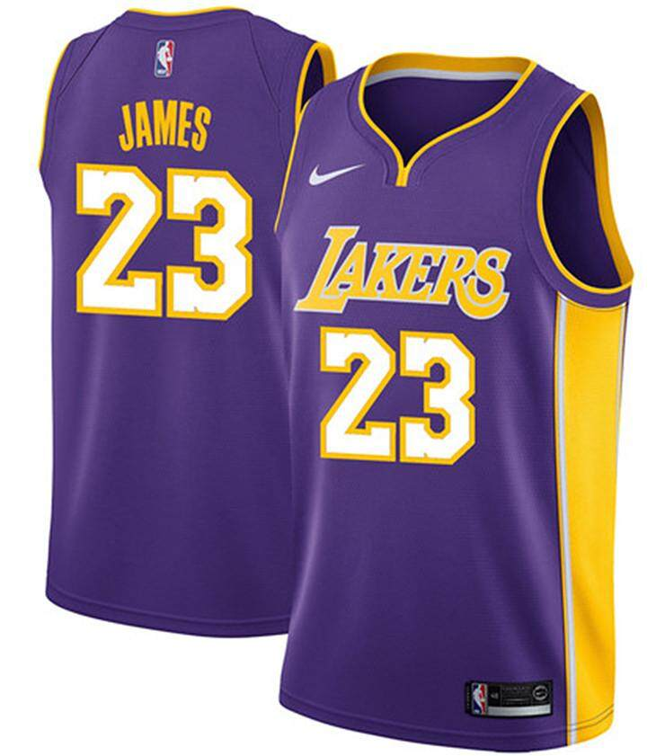a1b5e606af6979 Origianl NBA Num 23 LeBron James For Male Swingman Jersey Basketball Clothes  Los Angeles Lakers Official