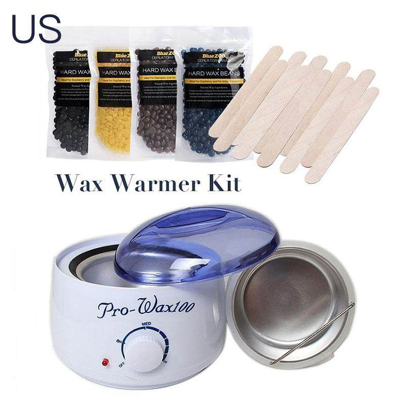 Acelit Wax Heater Machine Wax Warmer Wax Beans 10 Wooden Sticks US Plug/EU Plug