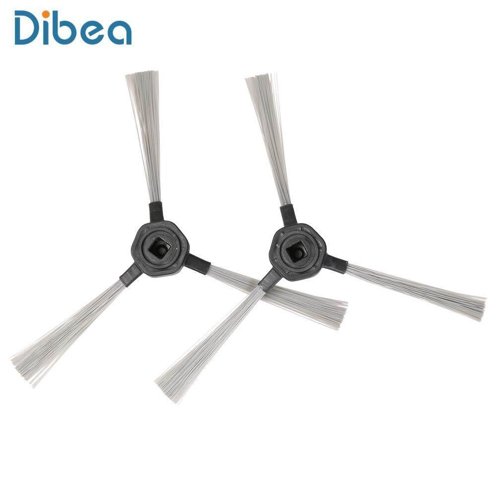 2 pcs Dibea D960 หุ่นยนต์ดูดฝุ่นทำความสะอาดแปรงด้านข้างกวาดอุปกรณ์เสริม