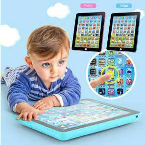 Hình ảnh Newworldmall Tablet Toy Learning Machine Educational Touch Type Early Education Music