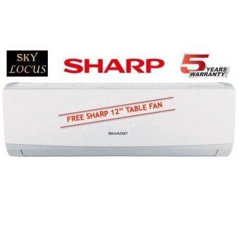Sharp 1.0hp Non Inverter Air Conditioner AHA9UCD