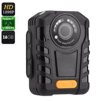 16X Zoom Night Vision Police Body Worn Camera DVR(DVR-20C)