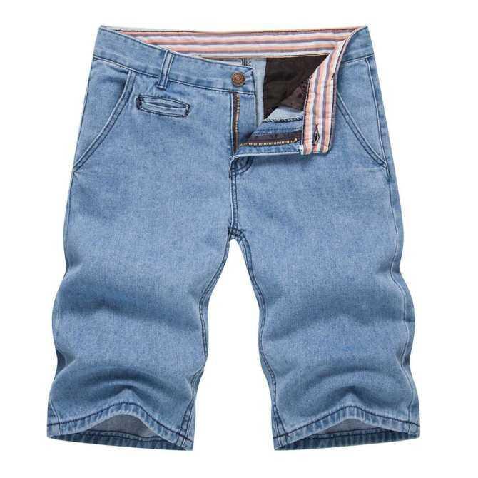 Carolane Mens Boys Summer Denim Shorts Jeans Casual Denim Pants