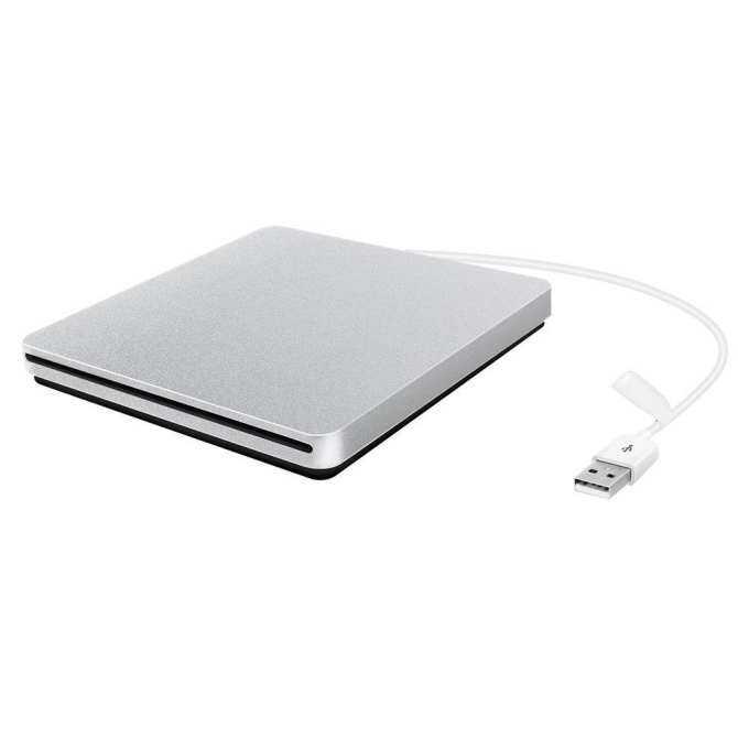 External CD DVD Drive, USB Ultra-slim Portable CD DVD RW/ DVD CD ROM Burner/ Writer/ Superdrive with High Speed Data Transfer for Apple Mac Macbook Pro/ Air iMac Laptop