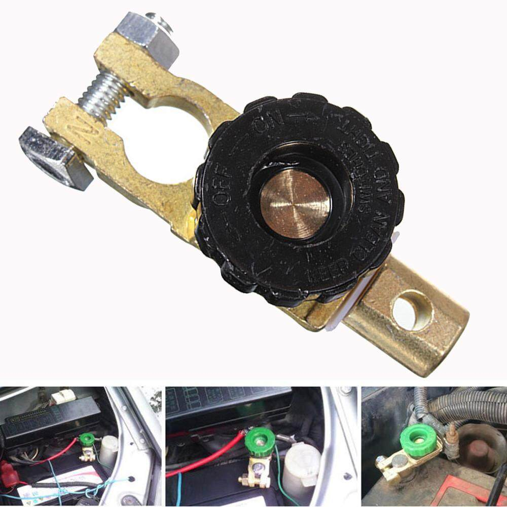 Universal Battery Terminal Link Switch Quick Cut Off Disconnect Car Truck ND