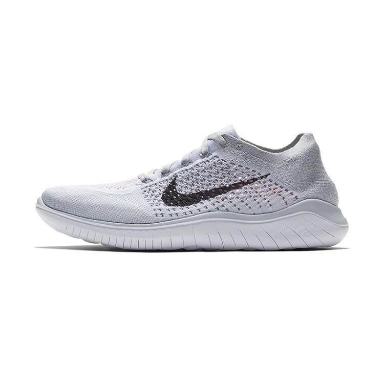 fa9e0feda2c8 Nike Free Rn Flyknit 5.0 Men s Breathable Light Running Shoe Fashion Sport  Shoes (Grey)