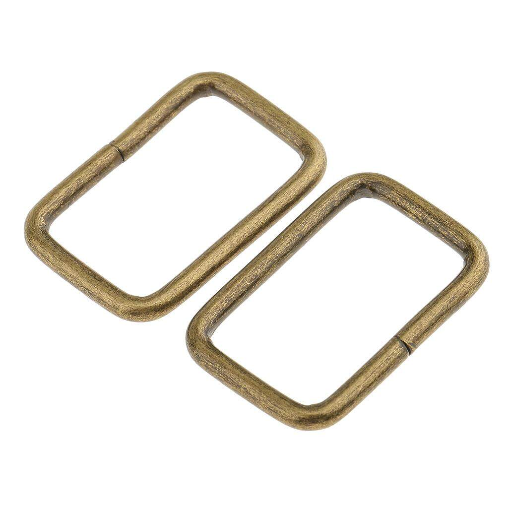 40Pcs Metal Square Buckle Bag Strap Connector Accessories for Purse Making