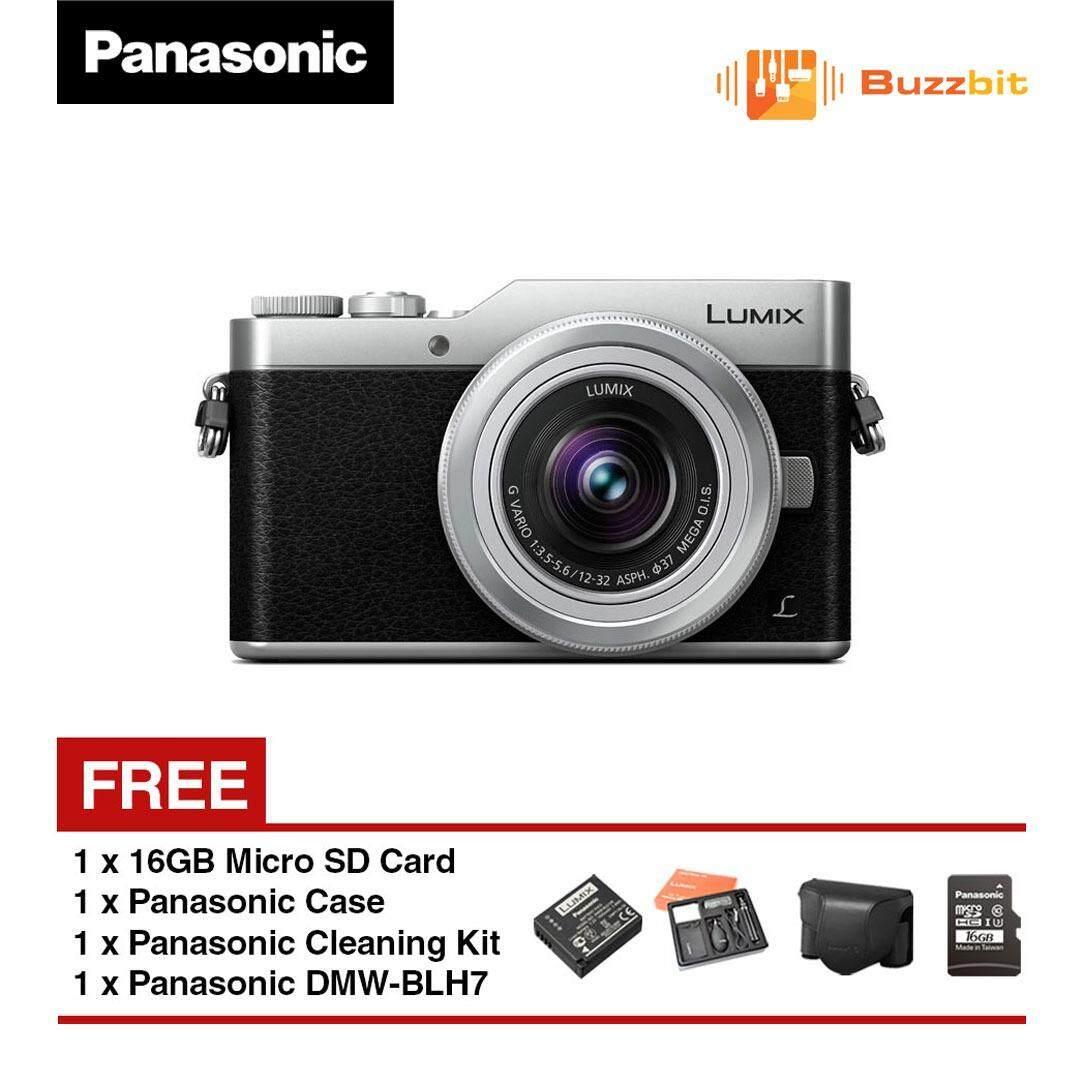 Panasonic Lumix Gf9k Gf9 Mirrorless Camera With 12 32mm Lens Kit Fujifilm X A3 16 50mm F35 56 Ois Ii Brown Silver