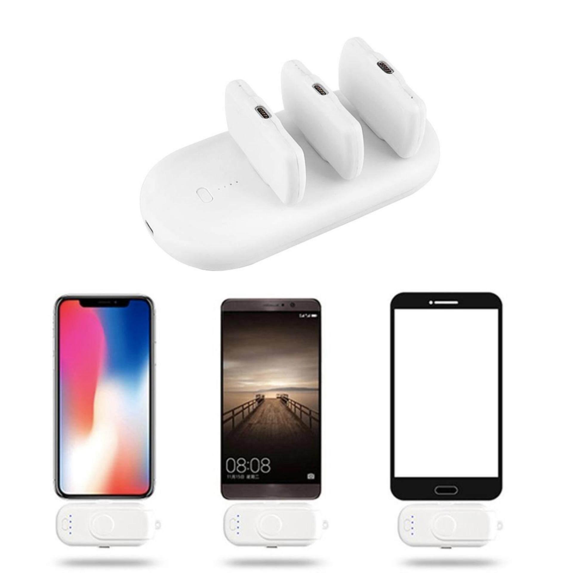 [GILERR PROMOTION] Magnetic Power Bank 5000mAh + 950mAh x 3 For IPhone/Micro/Type-C