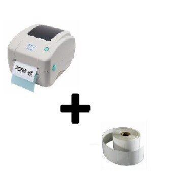Barcode Printer XP-DT425B+Label Sticker 70x50mm(500Pcs)10roll