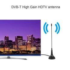 Kỹ thuật số DVB-T Trong Nhà HDTV Ăng Ten UHF/VHF Kép Đế Từ Tính Ăng Ten 10DB