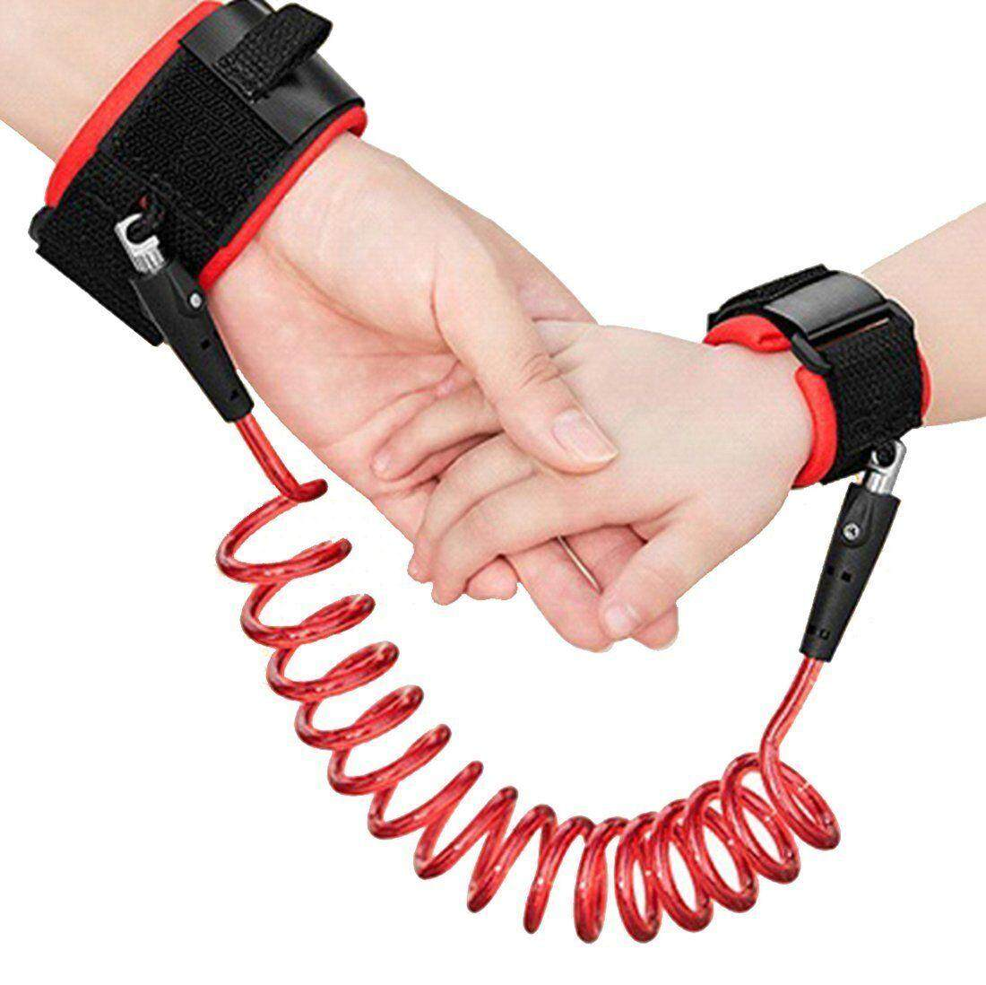 1.5M Adjustable Kids Safety Anti-lost Wrist Band Toddler Harness Leash Strap