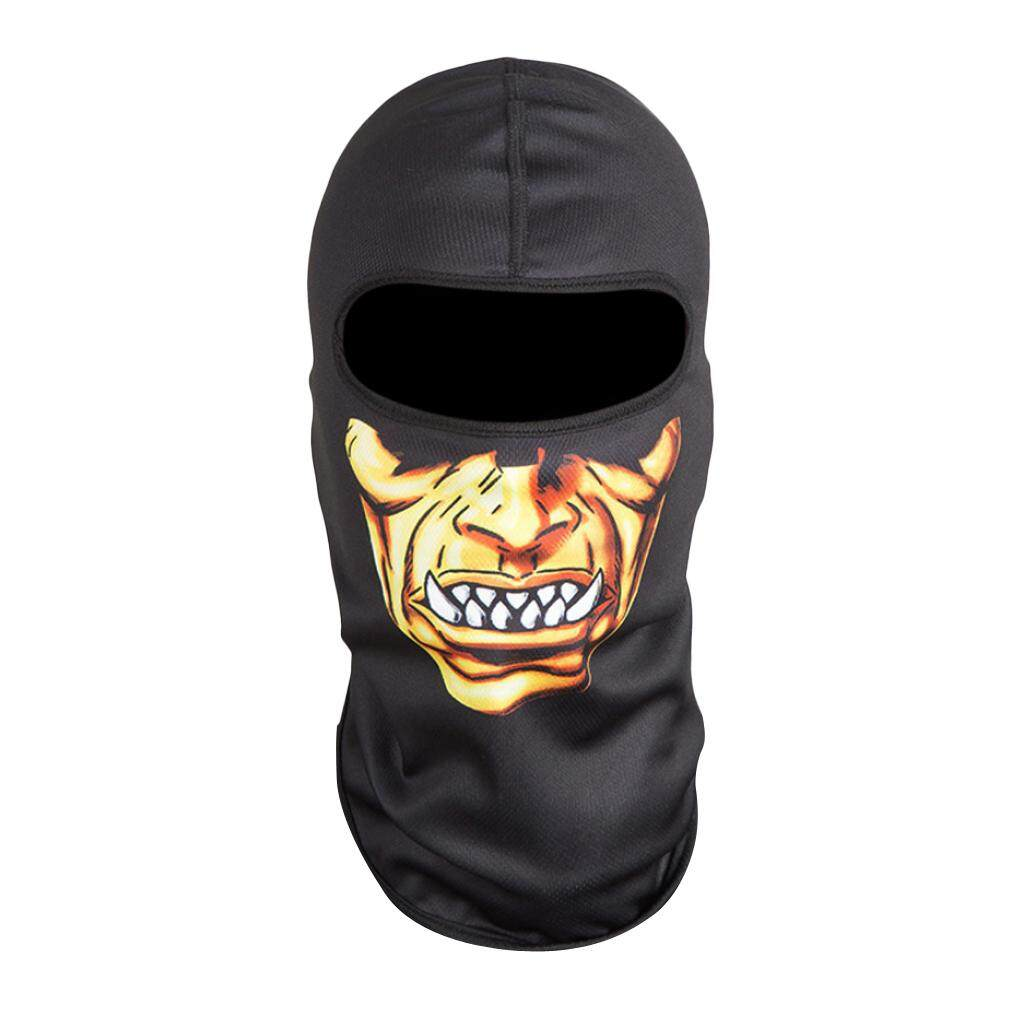 MagiDeal Outdoor Motorcycle Ski Cycling 3D Neck Hood Full Face Mask Cap Headwear B
