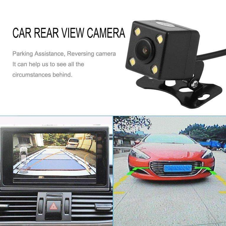 LGDS Wireless Transmitter & Receiver Adapter + Waterproof 4 LED Rear View Camera